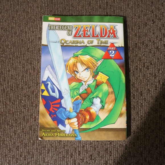 Manga Accents Legend Of Zelda Ocarina Of Time Part 2 Poshmark